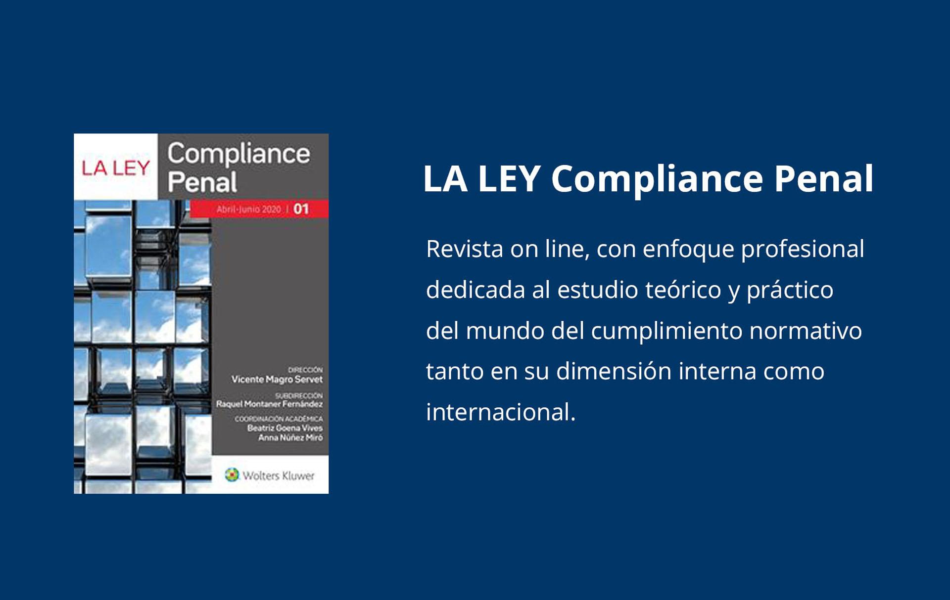 Revista La LEY, Compliance Penal