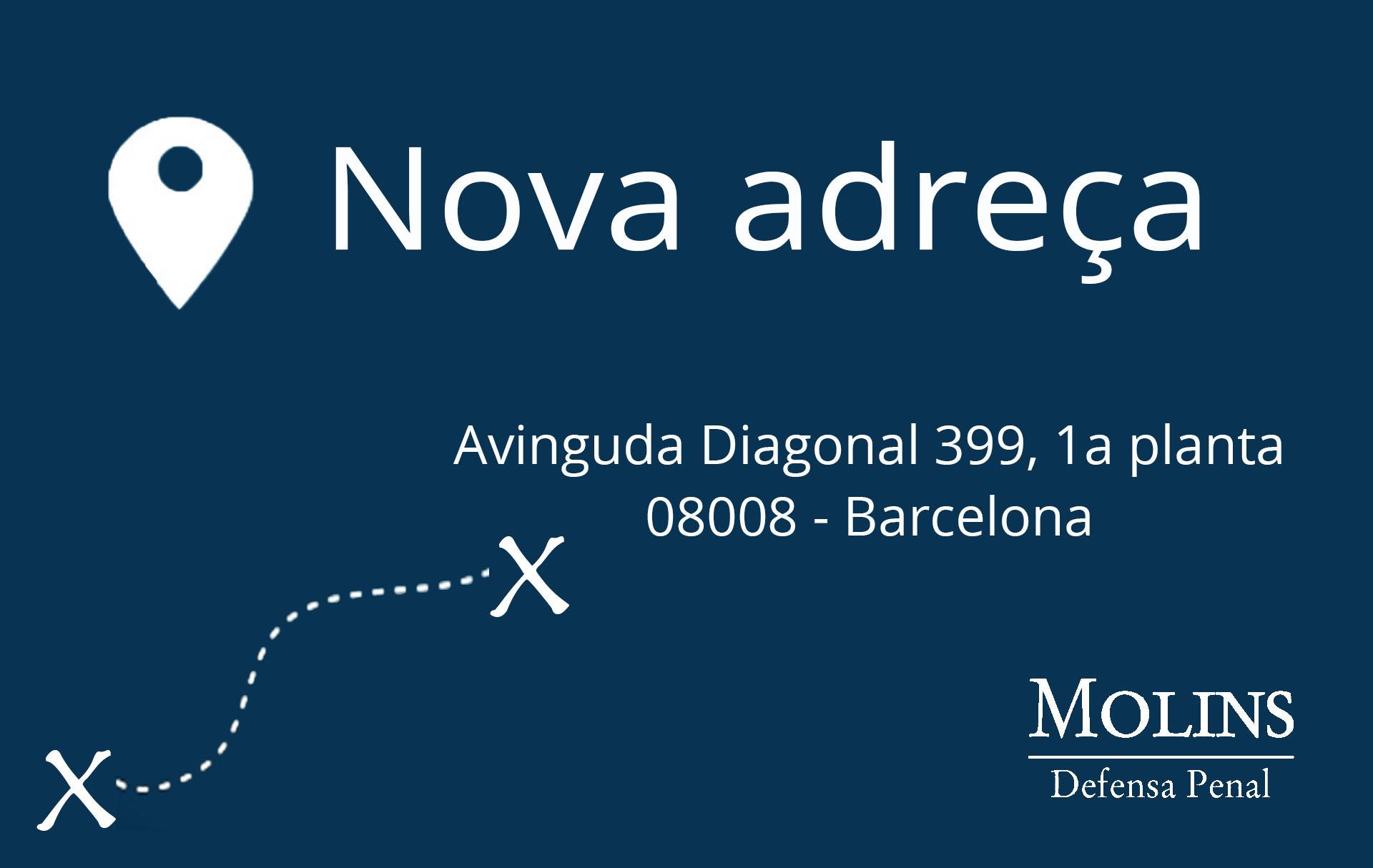 Trasllat de despatx a Barcelona