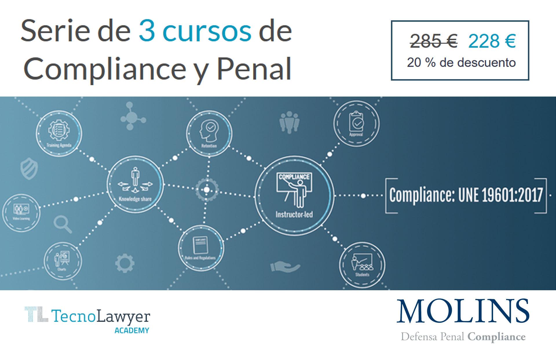 Pack de 3 cursos de Compliance